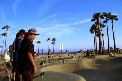 Venice beach photography in California