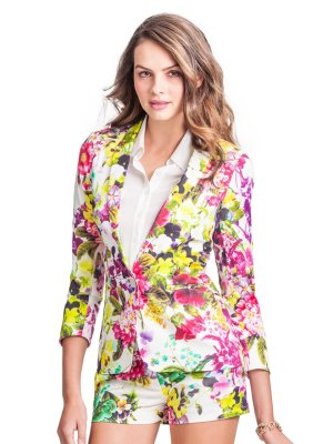 GUESS by Marciano St. Tropez Floral Jacket, $228