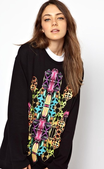 Monki Graphic Print Sweat_$42.43