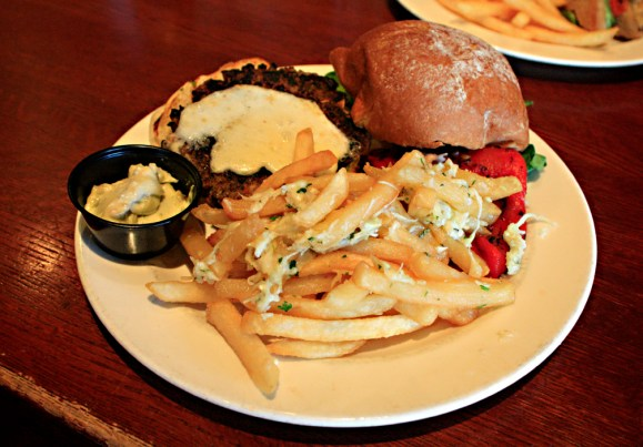 Boscos Vegetable Burger