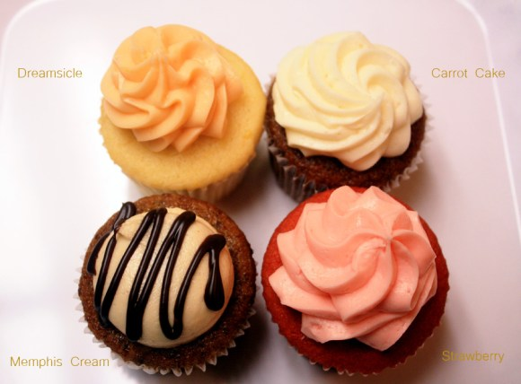 Frost Cupcakes5-flavors