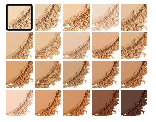 Stay Matte But Not Flat Powder Foundation-shades
