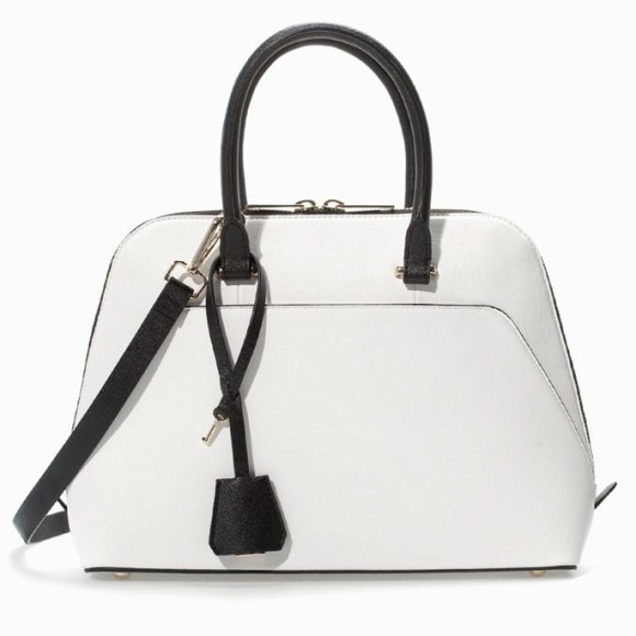 Two-Tone City Bag, $79.90