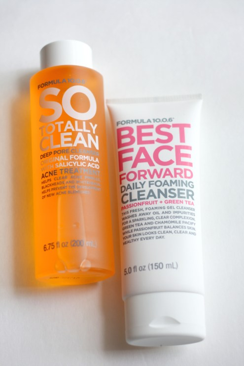 Formula 10.0.6 Best Face Forward Daily Cleanser + So Totally Clean Deep Pore Cleanser-KFUSION