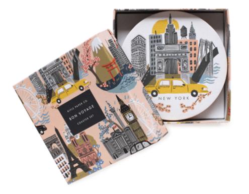 Bon Voyage Coasters-Amelia