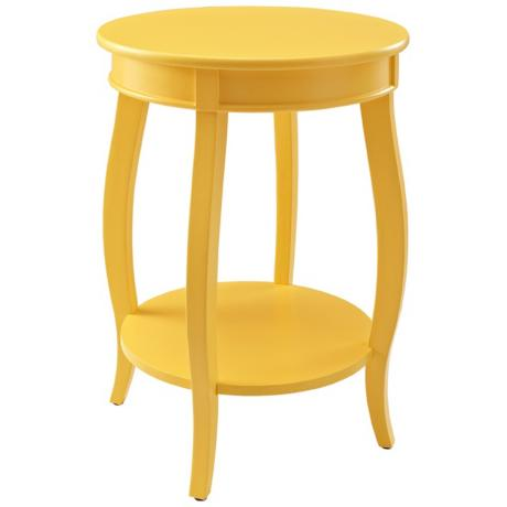 Kraven-Round-Yellow-Accent-Tables
