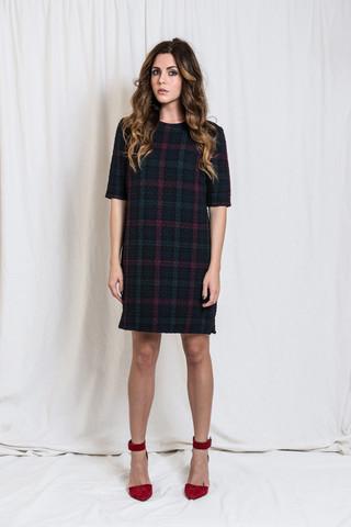 Elizabeth_And_James_Plaid_Clairemont_Dress_$385