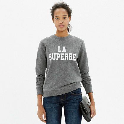 Madewell et sézane® la superbe sweatshirt $85