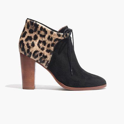Madewell et sézane front-tie boots $315