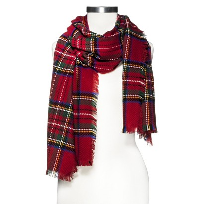 Multicolored-Oversized-Plaid-Scarf