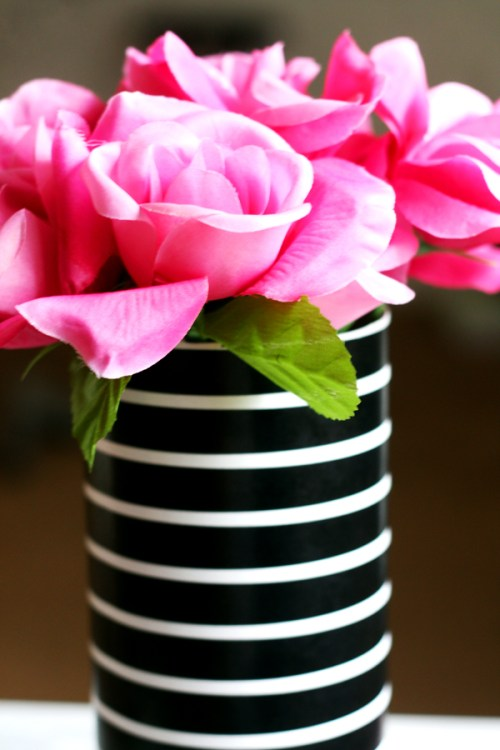 DIY-Striped-Vase-KPFUSION