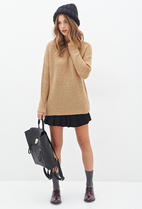 Forever-21-Drop-Sleeve-Sweater