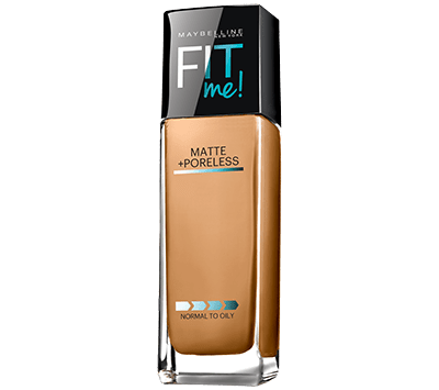 Maybelline-WarmHoney-FitMe-MattePorelessFoundation