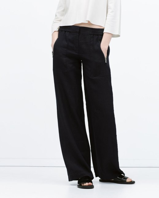 Linen Trousers Zara