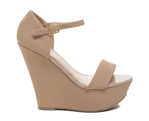 Status Single-Strap Platform Wedges GoJane