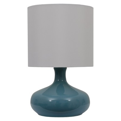 Target Ceramic Gourd Lamp with White Shade