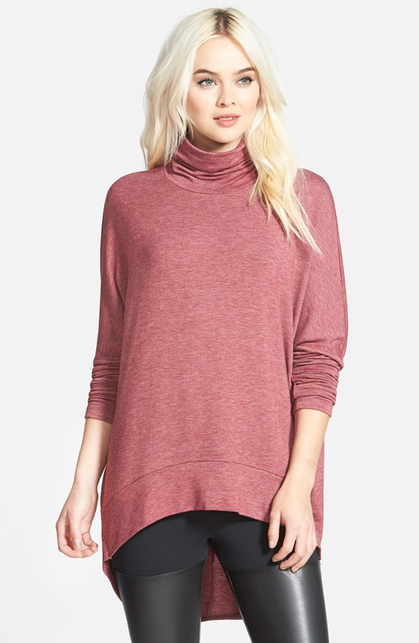 Madison + Berkeley Oversize Turtleneck Tunic