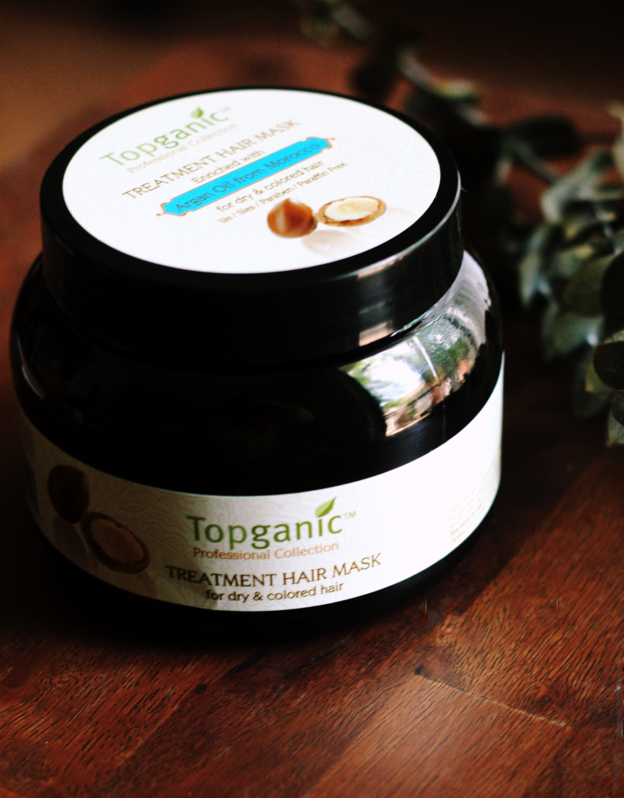 Product Review | #Topganic Hair Mask w/Argan Oil