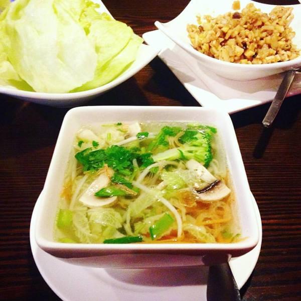Asian Eatery Lettuce Wraps