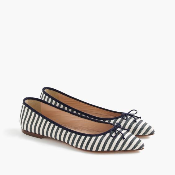 Gemma-Striped-Flats-JCrew