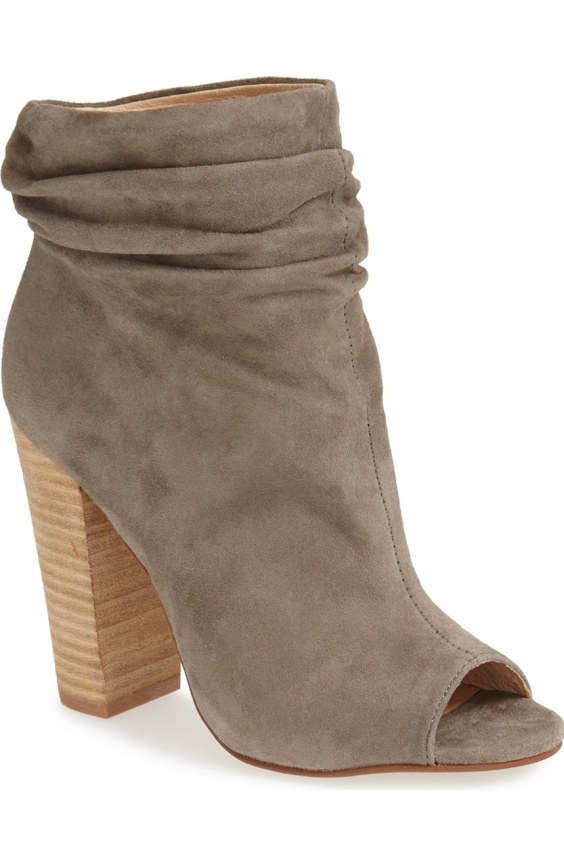 'Laurel' Peep Toe Bootie