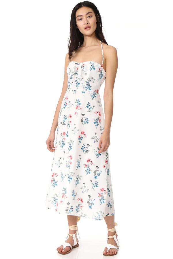 BB Dakota Dawn Floral Midi Dress
