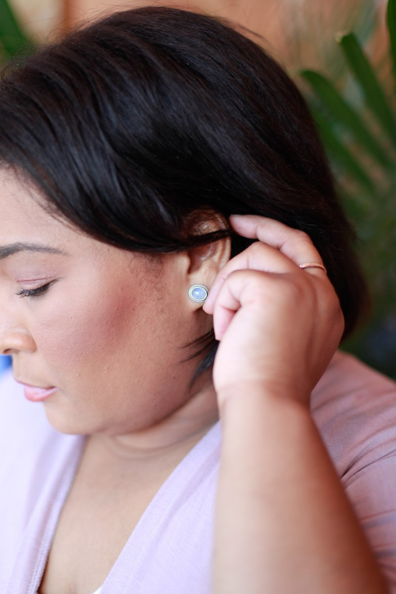 Small Statements | Moonstone Earrings