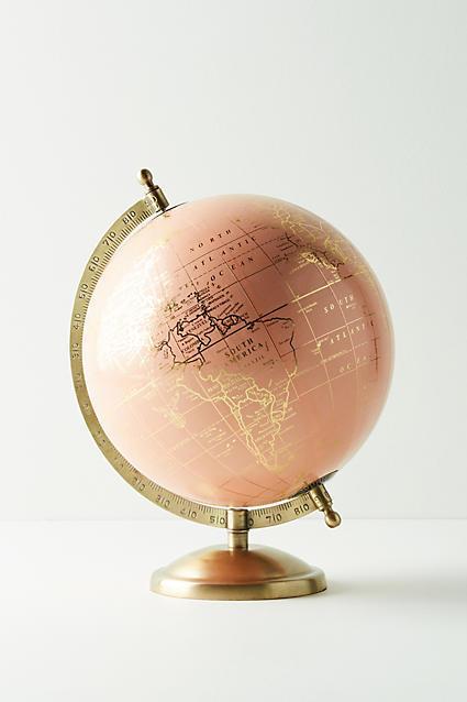 Anthropologie Decorative Globe