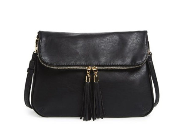 Bp. Foldover Crossbody Bag - Black