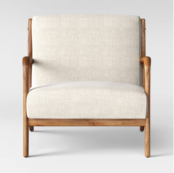 Esters Wood Arm Chair Husk - Project 62™