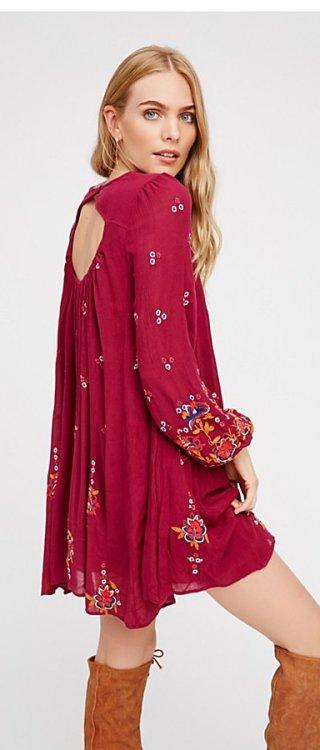 Oxford Mini Dress by Free People2