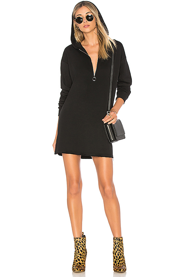 by the way. Reyna Hooded Sweater Dress