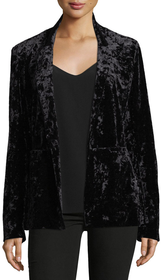 Sanctuary Crushed Velvet Blazer