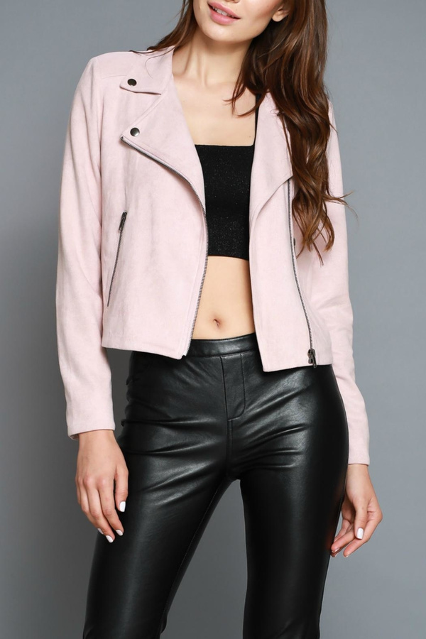 Do & Be Faux Moto Jacket