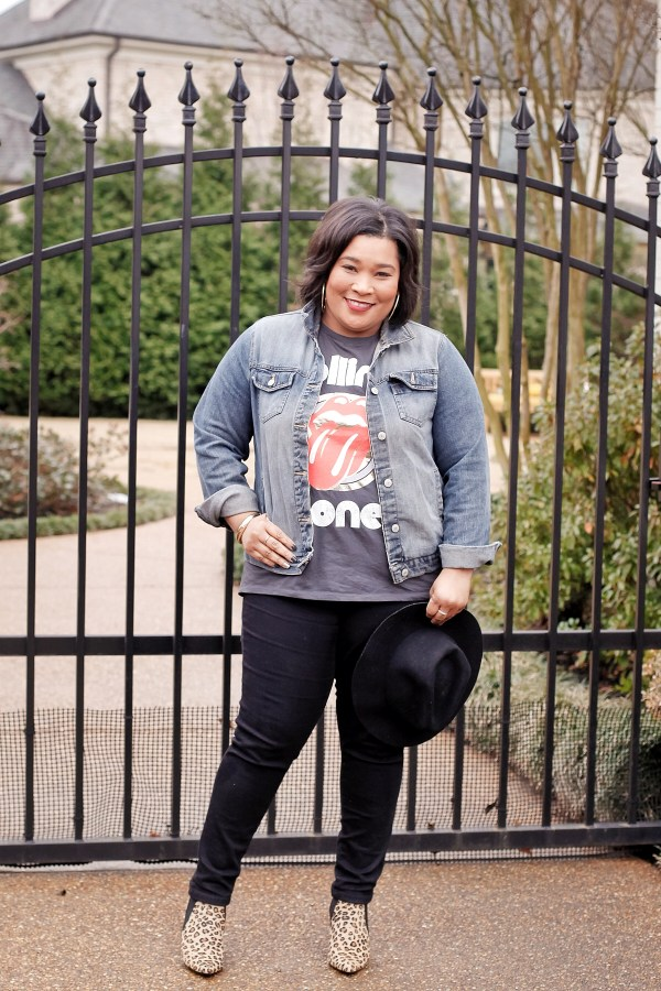 Graphic Tee and Denim Jacket Trend