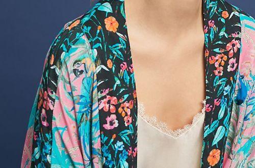 Addie Cropped Kimono