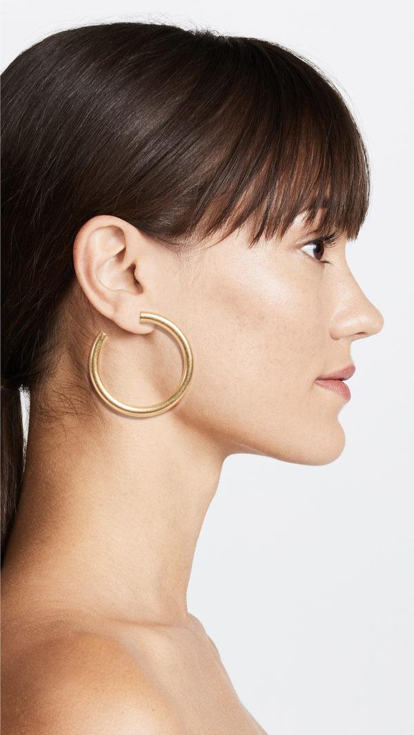 Madewell Chunky Oversized Hoop Earrings