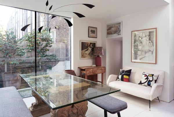 An Eccentric Town House in Islington by Rising Design Star Rachel Chudley