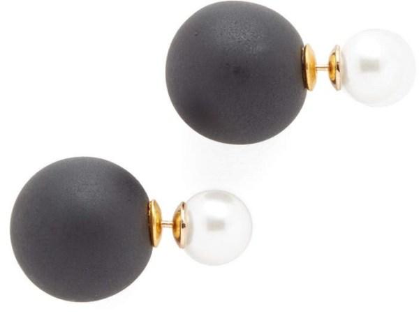 Shashi Double Ball Earrings