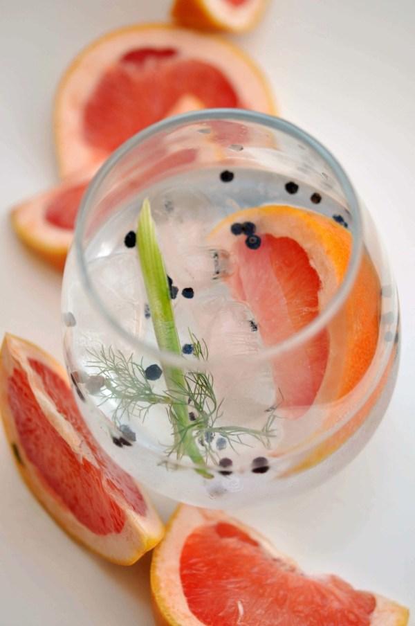Fennel, Black Pepper, & Grapefruit Gin & Tonic