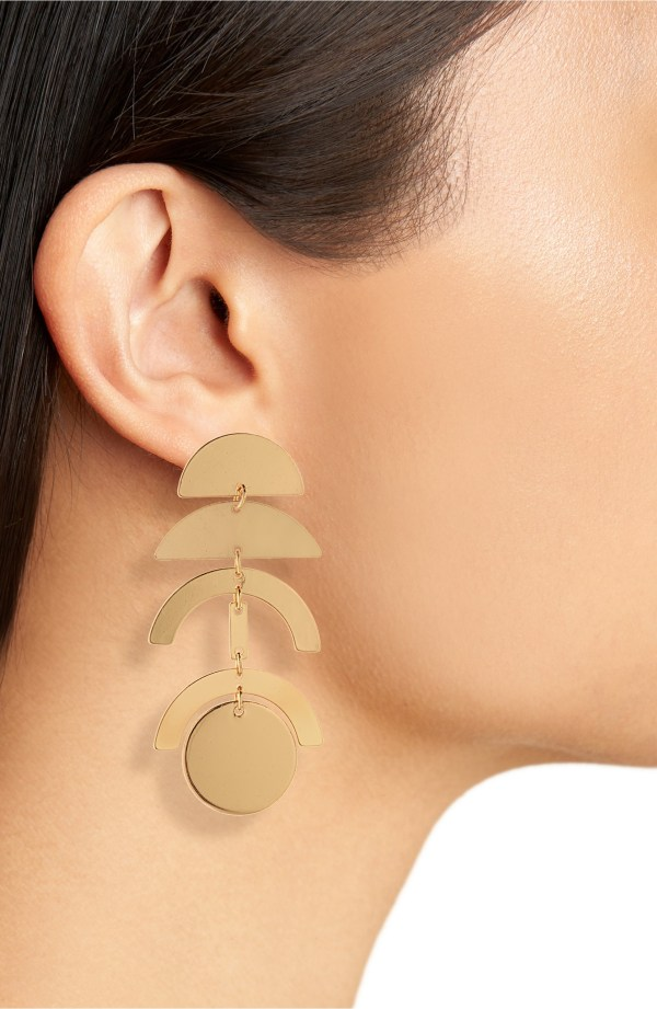 Panacea Linear Geo Earrings