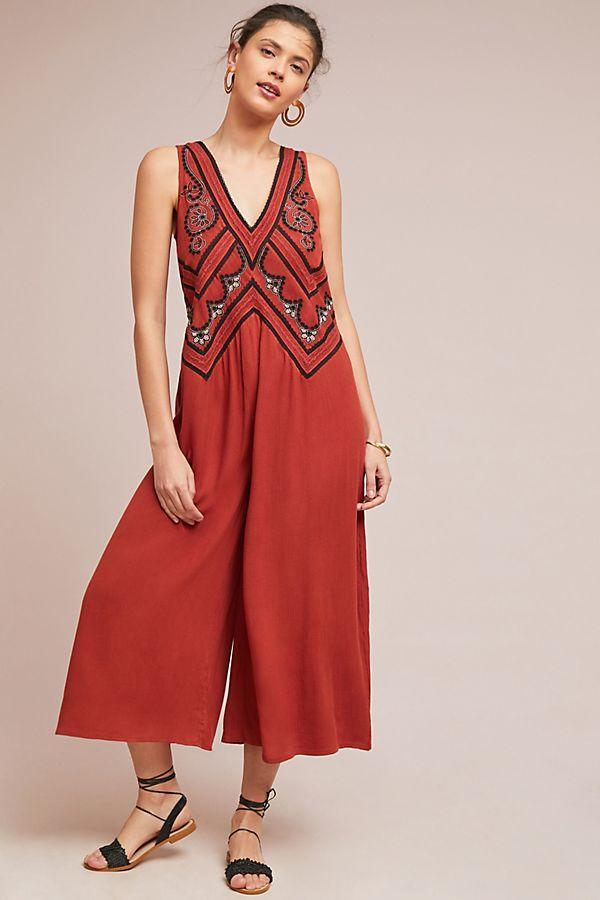 Desert Embroidered Jumpsuit