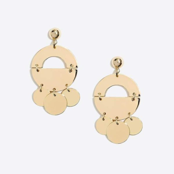 J.Crew Factory Golden mobile drop earrings