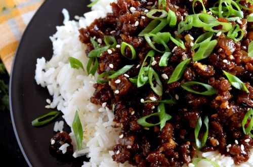 Korean Vegetarian Beef