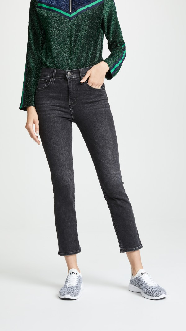 Levis 724 Straight Crop Jeans