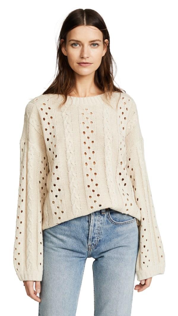 Line + Dot Araza Sweater