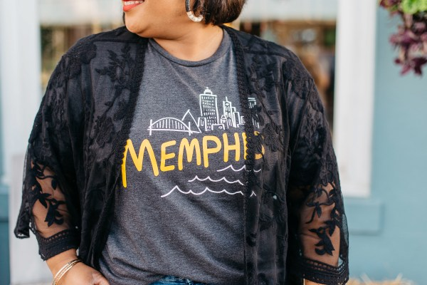Falling Into Place Memphis Tee Campaign