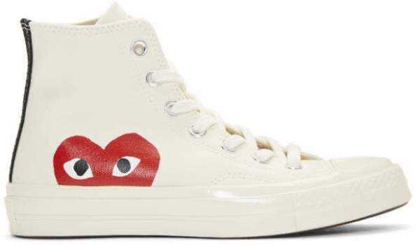 Comme des Garcons Play Off-White Converse