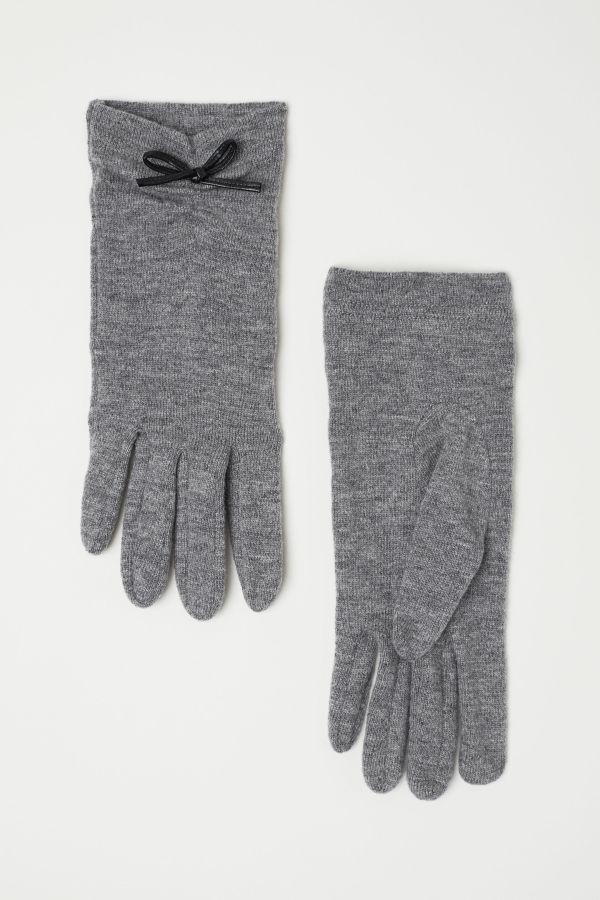 H&M - Wool-Blend Gloves