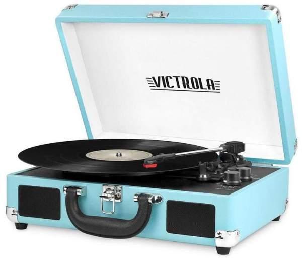 Innovative Technology Victrola Portable Bluetooth Record Player